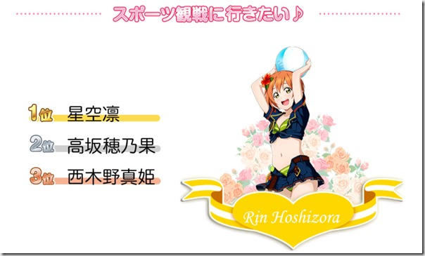 サマーガール決定戦 & 転入生総選挙 - ラブライブ! スクールアイドルフェスティバル