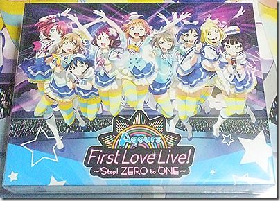 [ラブライブ!サンシャイン!!] Aqours First LoveLive! ~Step! ZERO to ONE~ Blu-ray Memorial BOX 発売!