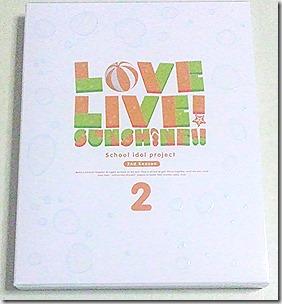 [ラブライブ!サンシャイン!!] TVアニメ2期 Blu-ray 第2巻 発売! 文学的な1枚。